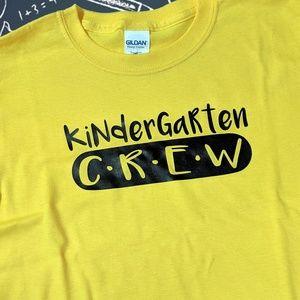 Kindergarten Crew Kids Tee Shirt Size Extra Small